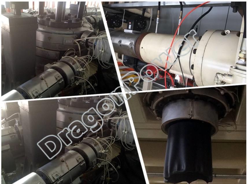 电磁感应加热器主要适用于塑料(橡胶)注射机,挤出机,吹膜机,拉丝机,塑料薄膜,管材,线材等。电磁加热技术是直接发热(料筒自身发热),在料筒外部又包裹着隔热保温材料,保温材料上绕电磁线,利用电磁感应使料筒产生涡流发热,大大减少了热传导损失和热量对空气的散失,提高了热效率,避免了环境温度的上升,因此节电效果十分显著,可达30%~75%。因此电磁加热圈本身并不发热,而且是采用陶瓷材料和高温电缆制造,所以不存在原电热圈的电阻丝在高温状态下氧化而缩短使用寿命的问题,具有使用寿命长、升温速率快、无需要维修等优点,减少